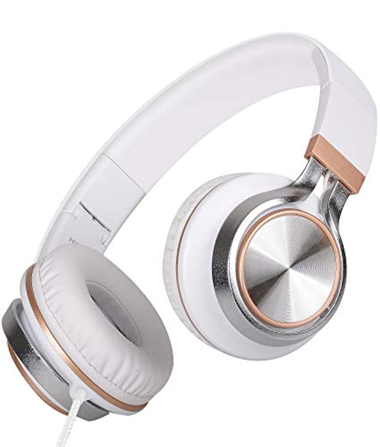 HW50C Stereo Folding Headphones with Microphone - smrt-life.com