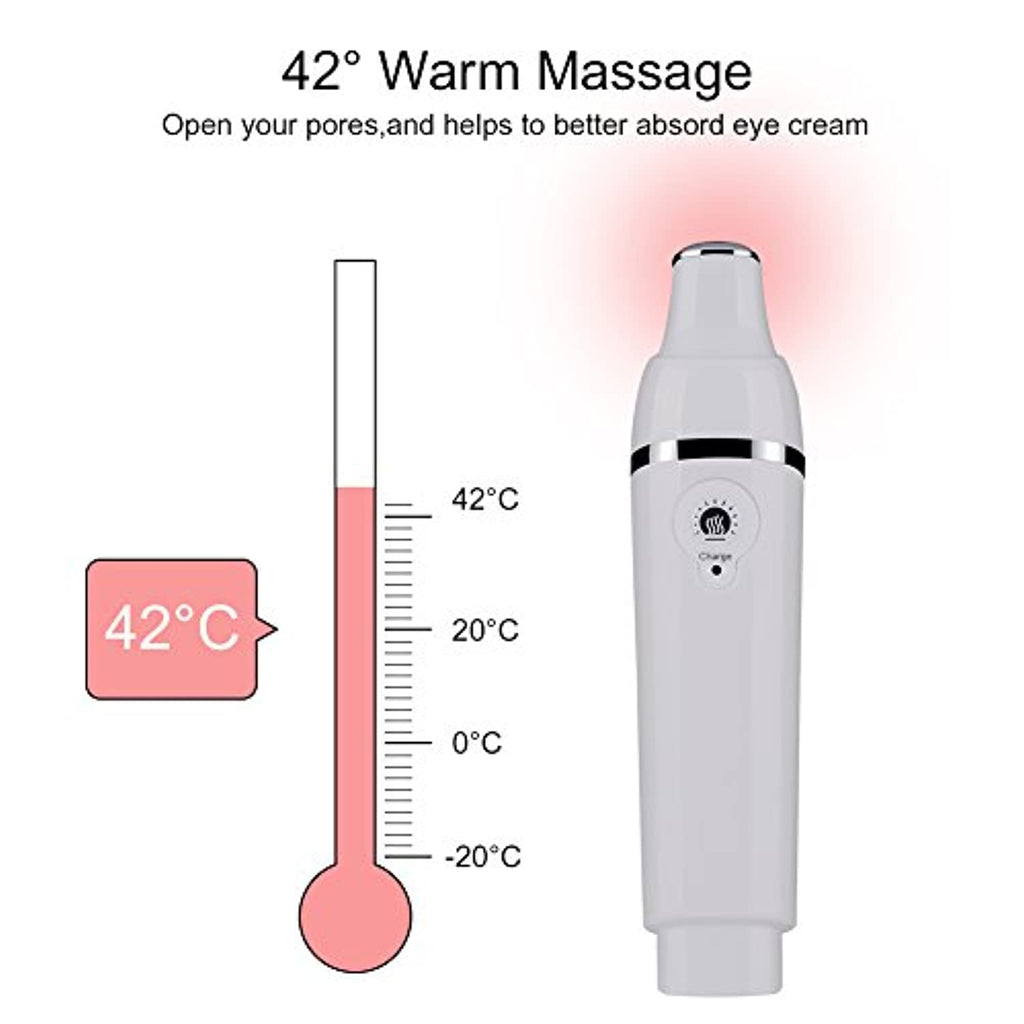 Heated Sonic Eye Massager Anti-Ageing Device Tool - smrt-life.com