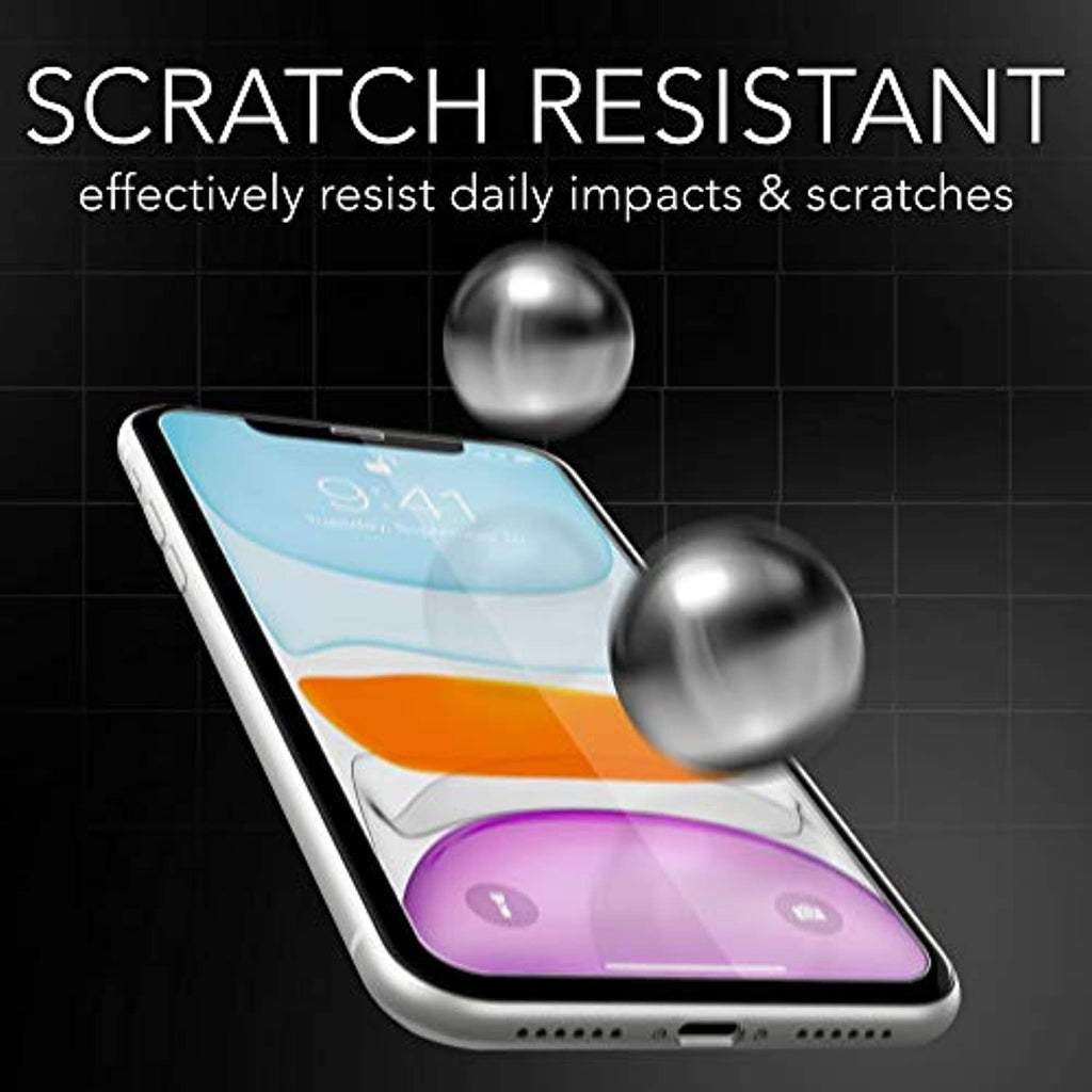 "iSOUL [4 Pack] Screen Protector For iPhone 11 & iPhone XR 6.1"" 0.28mm Tempered Glass Film - smrt-life.com"