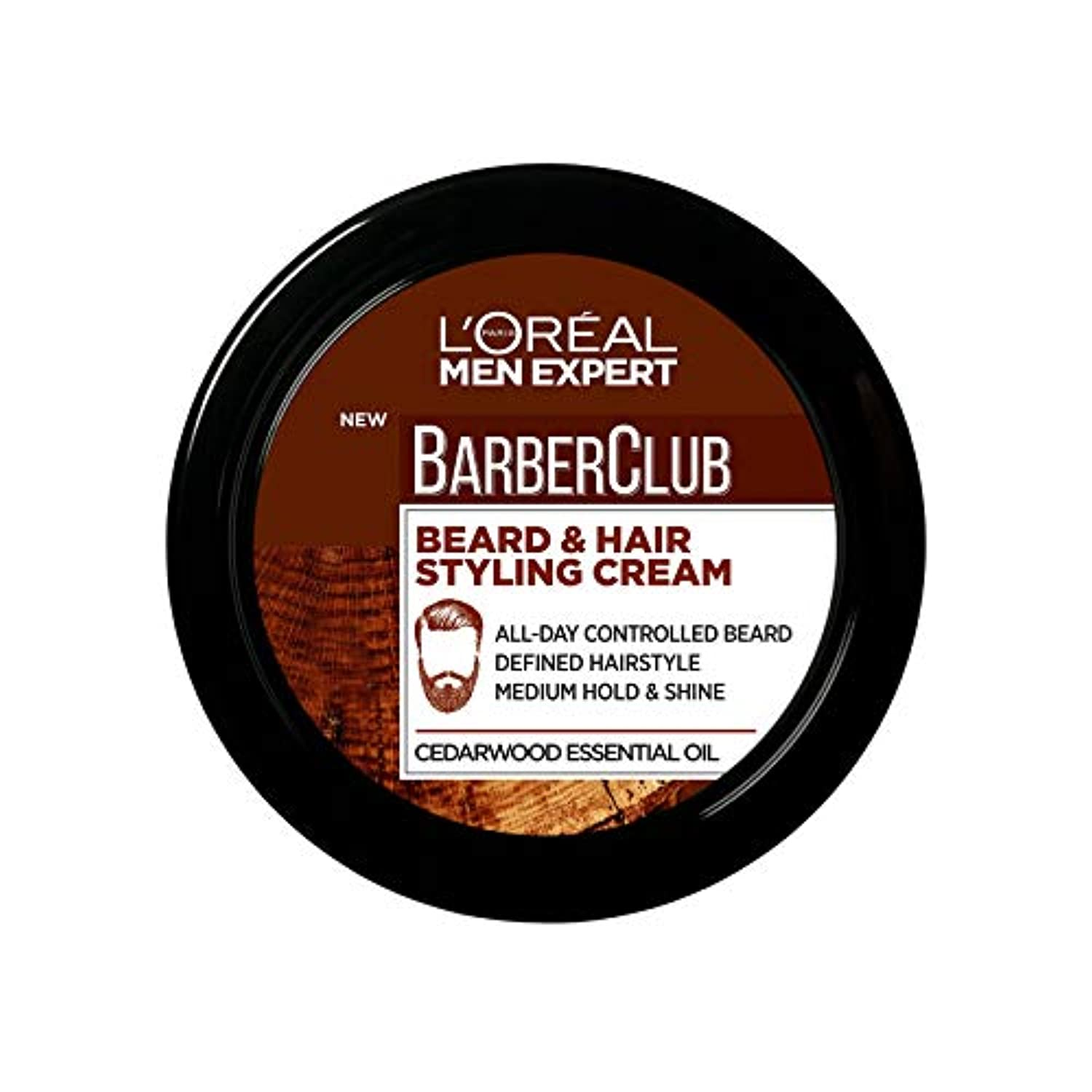 L'Oreal Men Beard & Hair Styling Cream - smrt-life.com