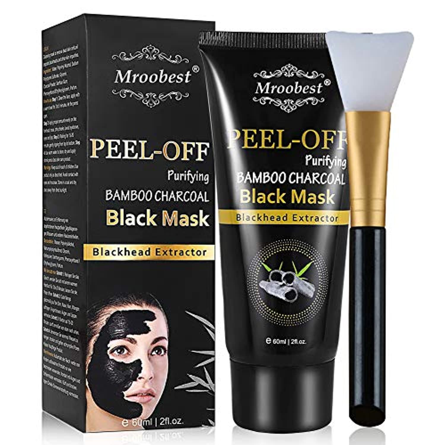 Blackhead Peel Off Mask with Activated Carbon - smrt-life.com