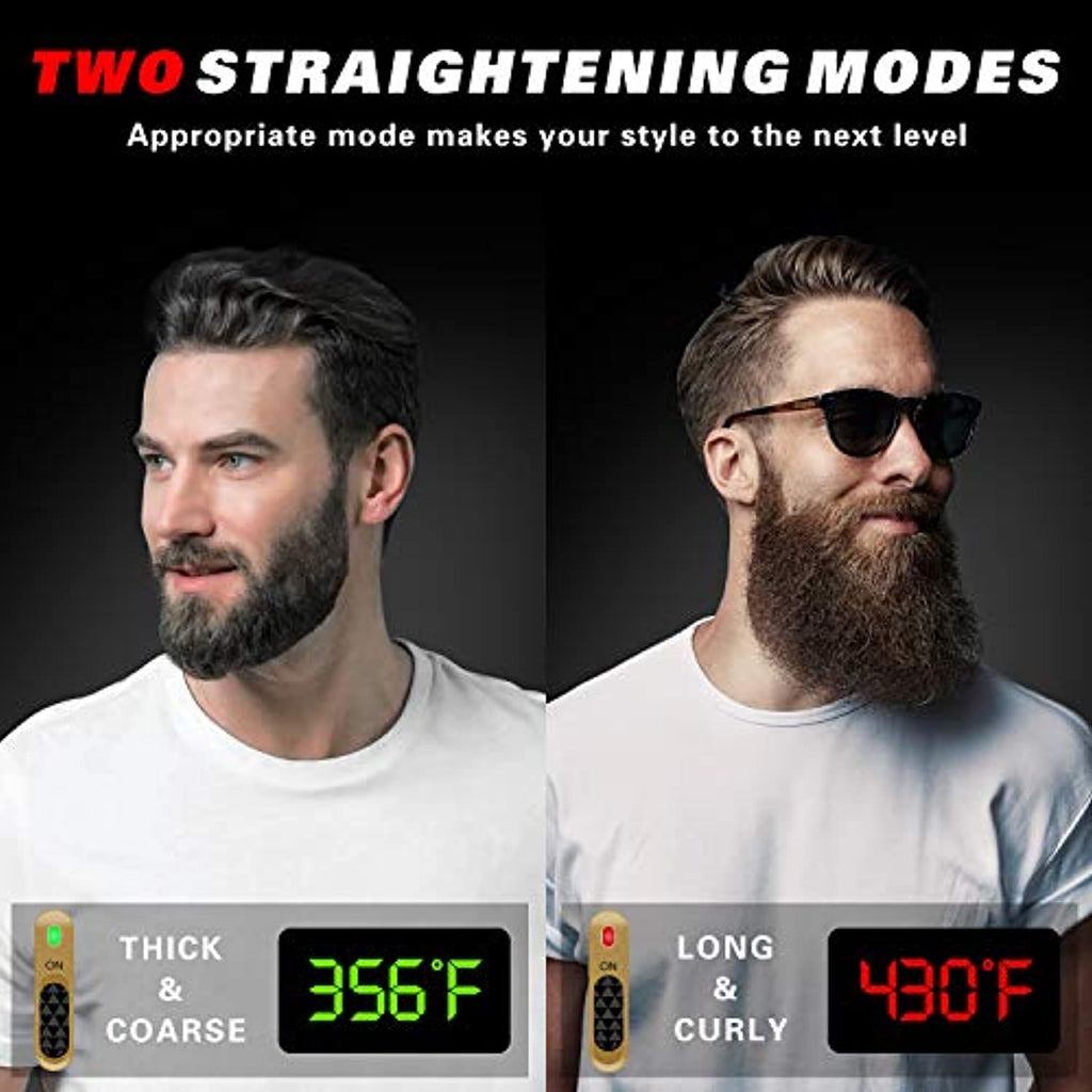 Beard Straightener Comb for Men - smrt-life.com
