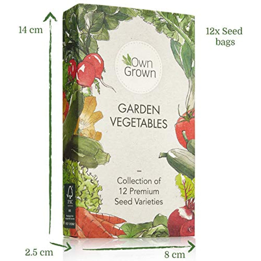 Gardening Vegetable Seed Set: 12 Varieties of Garden Vegetables Seed Mix - smrt-life.com