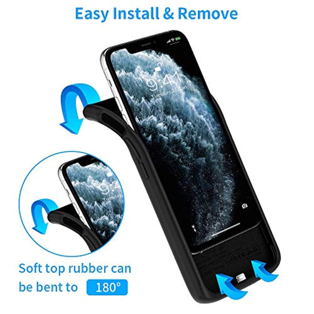5000mAh Battery Case for iPhone 11 Pro Max - smrt-life.com
