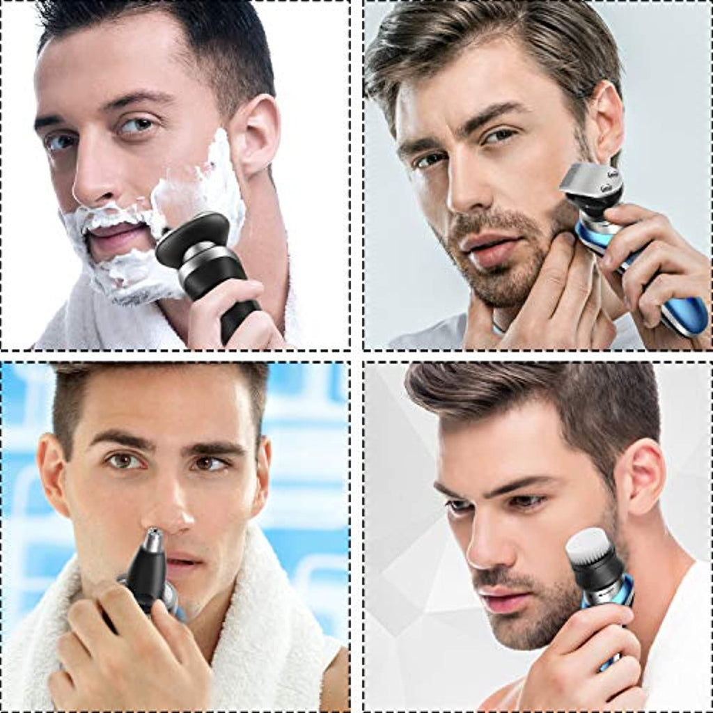 Rotary Electric Shaver for Men