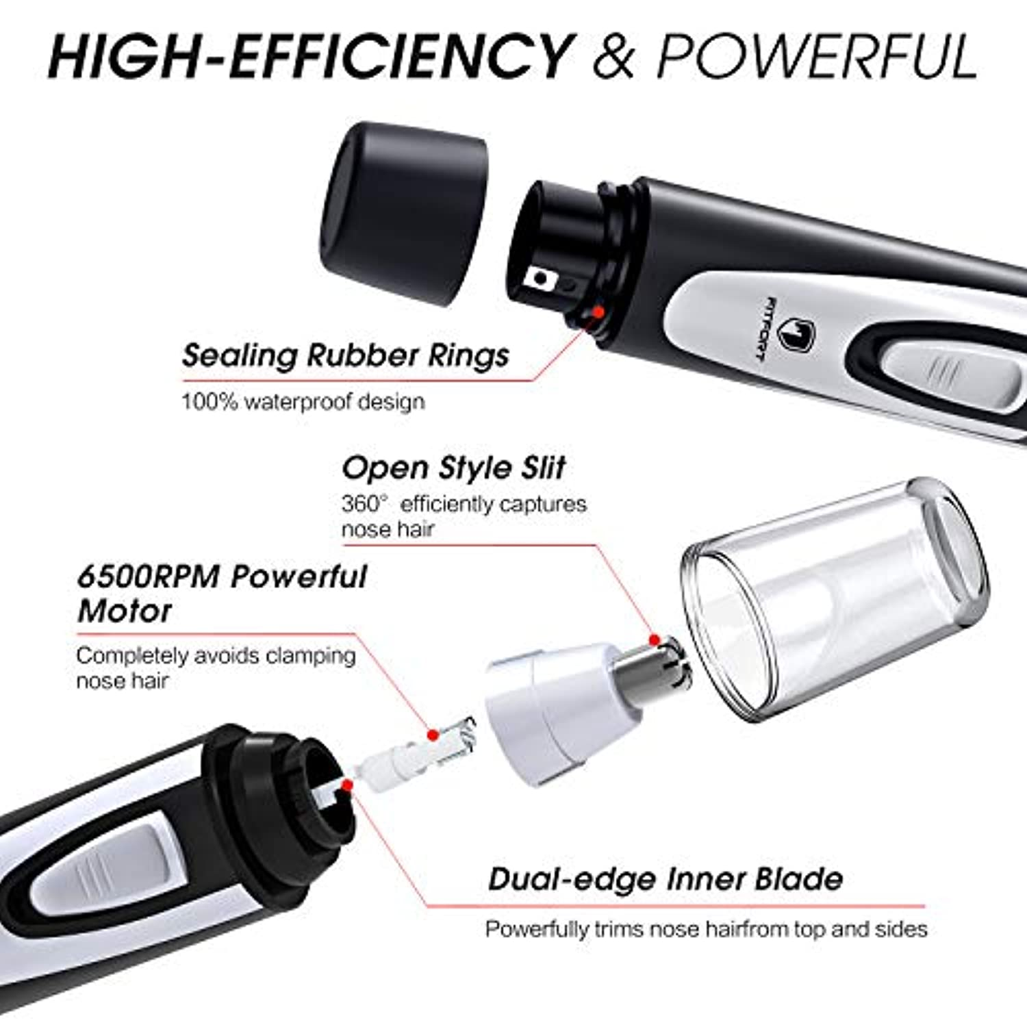 Ear and Nose Hair Trimmer Clipper - smrt-life.com