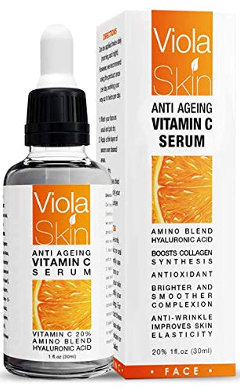 Vitamin C Serum For Face with Hyaluronic Acid Serum - smrt-life.com