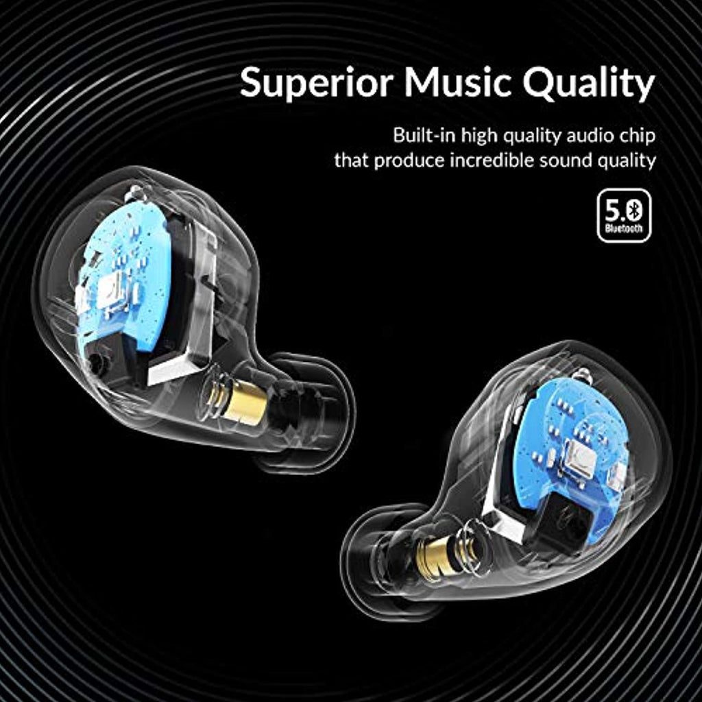 Wireless Earbuds with Deep Bass Stereo - smrt-life.com