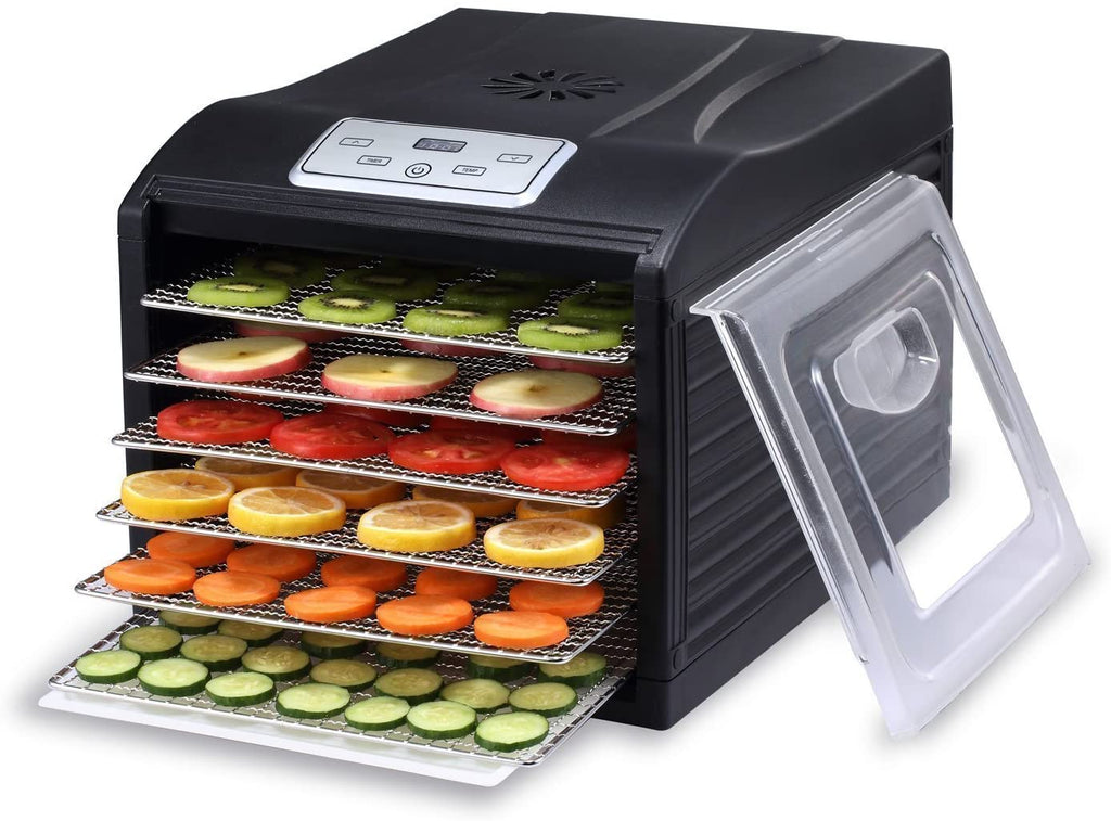6 Tray Food Dehydrator with Digital Display