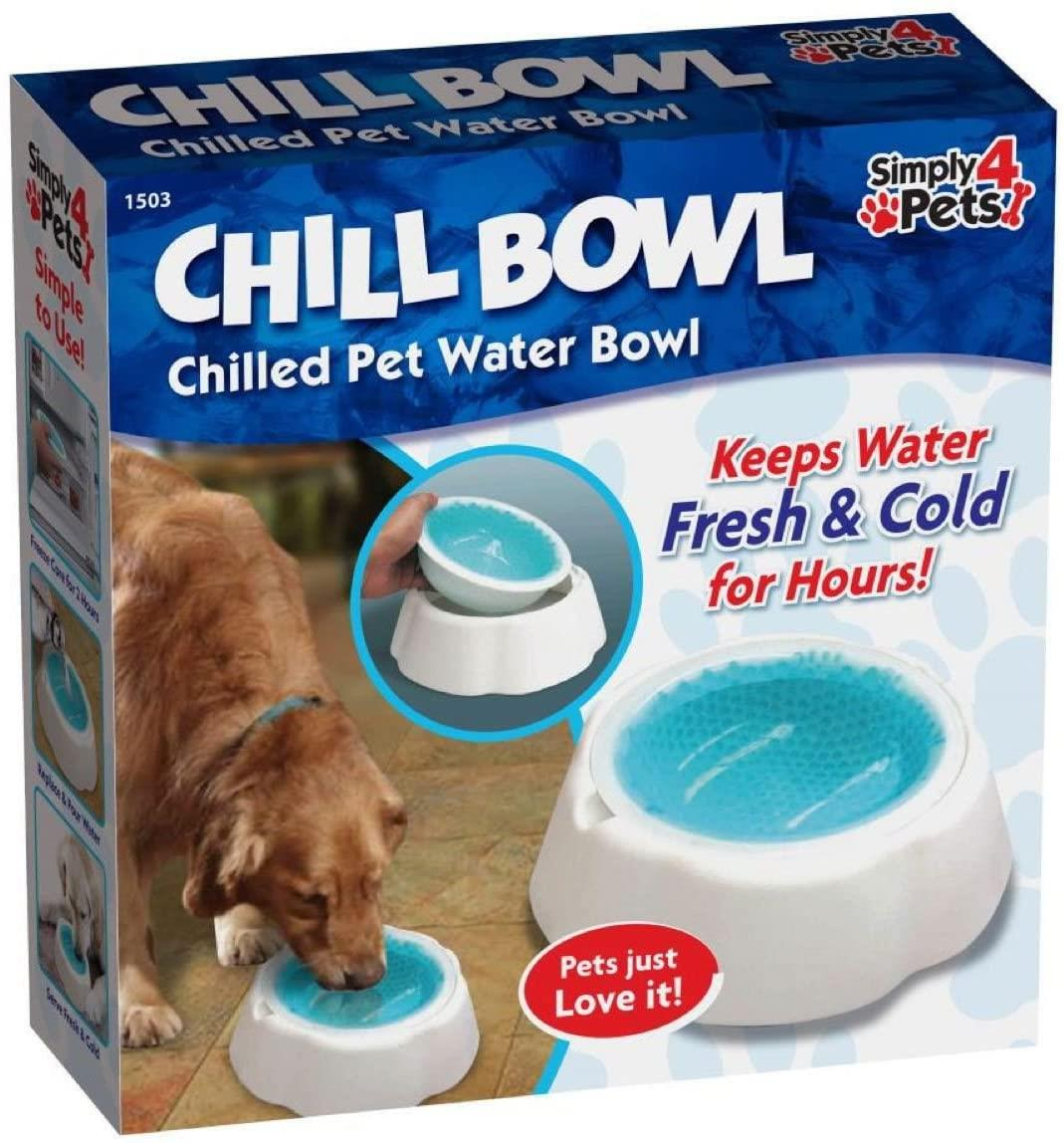 Pet Cooling Cool Bowl Freezable Chilled Water Bowl Summer Chilled Frozen Dog Cat - smrt-life.com