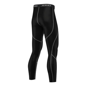 XOGO PERFORMANCE XP500 BASELAYER LEGGINGS - Black/Grey - XOGO
