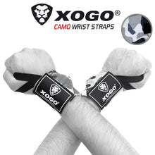 Load image into Gallery viewer, XOGO ULTRA WRIST WRAPS - Grey Camo - XOGO