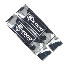 Load image into Gallery viewer, XOGO PRO Series WRIST STRAPS - Grey Camo - XOGO