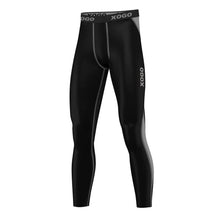 Load image into Gallery viewer, XOGO PERFORMANCE XP501 BASELAYERS LEGGINGS - Black/Grey - XOGO