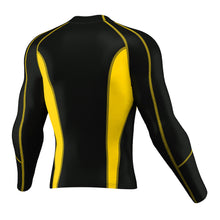 Load image into Gallery viewer, XOGO PERFORMANCE XP501 BASELAYERS TOP - Black/Yellow - XOGO