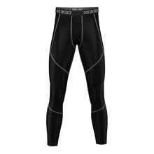 Load image into Gallery viewer, XOGO PERFORMANCE XP500 BASELAYER LEGGINGS - Black/Grey - XOGO