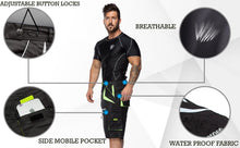 Load image into Gallery viewer, XOGO DYNAMIC X100 MTB Cycling Shorts - Black/Fluorescent - XOGO