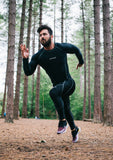 XOGO PERFORMANCE XP500 BASELAYER TOP - Black/Grey - XOGO