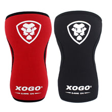 Load image into Gallery viewer, XOGO POWER KNEE SLEEVE 5MM - Black/Red - XOGO
