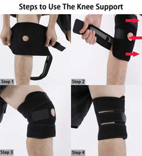 Load image into Gallery viewer, OPEN PATELLA KNEE SUPPORT - XOGO