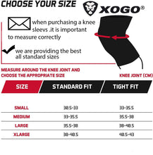 Load image into Gallery viewer, XOGO POWER KNEE SLEEVE 5MM - Camo - XOGO