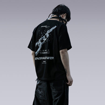 ENSHADOWER METAL CHAIN T-SHIRT