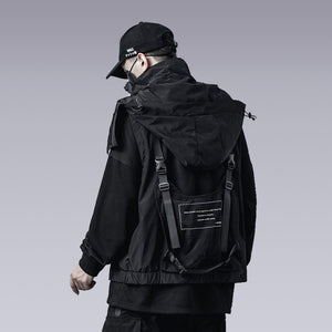 HOODED FUNCTIONAL VEST