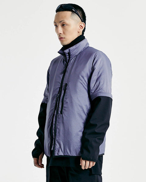 Grayish purple jacket