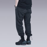 Silenstorm black plaid pants