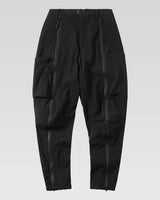 black pants with zippers on the legs