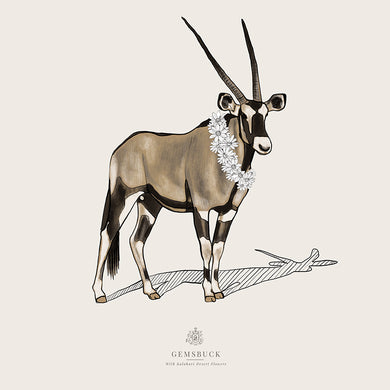 Gemsbuck | Wildlife Tribute Collection