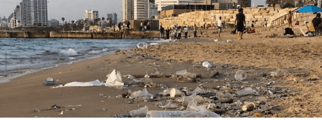 pollution plastique plage