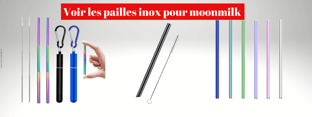 paille moonmilk inox