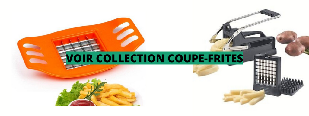 COUPE FRITE INOX ECOLOGIE