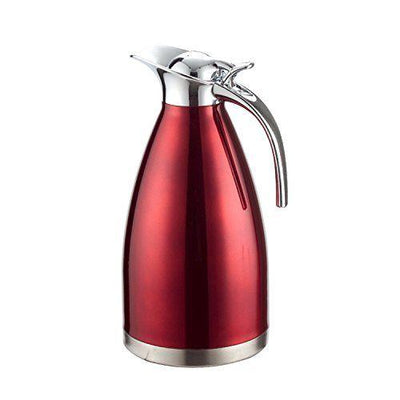 Thermos isotherme <br> Inox rouge 1litre - Inox Ecologie