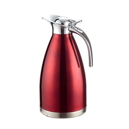 Thermos isotherme <br> Inox 1.5litre rouge | Inox Ecologie