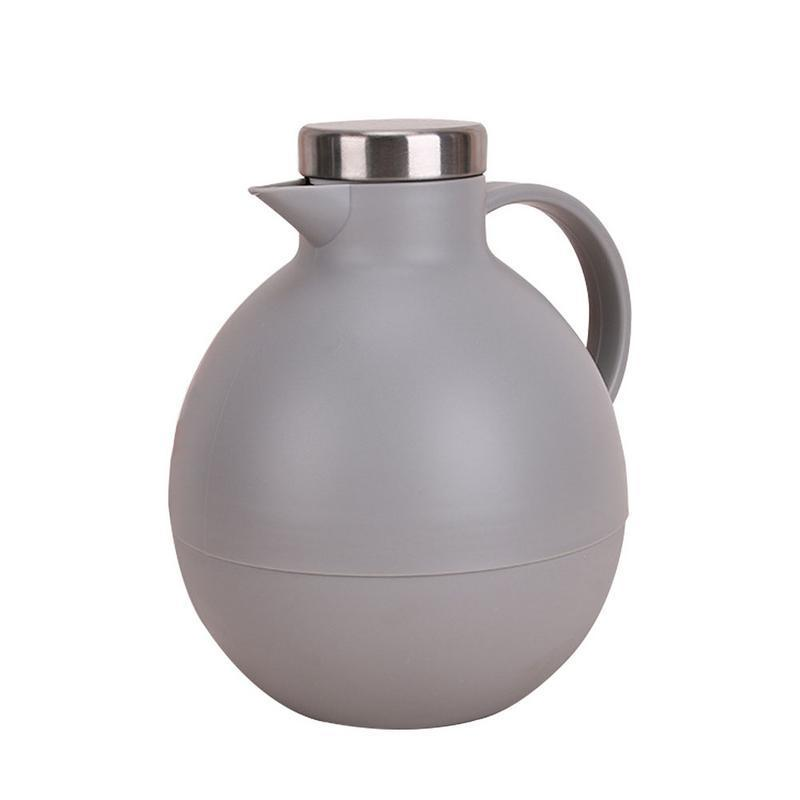 1000ml Round Insulation Pot Thermos Water Bottle Household Large Capacity Kettle plastic European Coffee Carafe