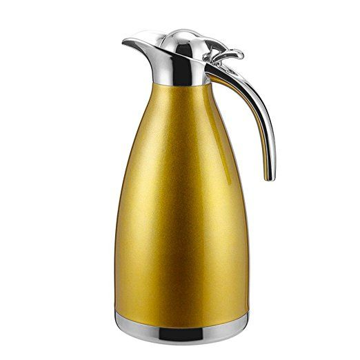 Thermos isotherme <br> 1.5 Litre jaune - Inox Ecologie