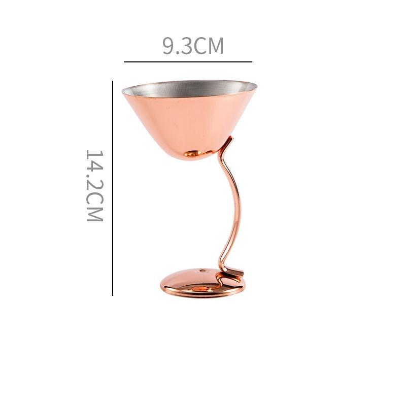 Verre à vin incassable <br> Inox <br> (200ml)