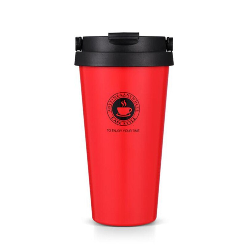 Travel mug inox rouge 500 ml - Inox Ecologie