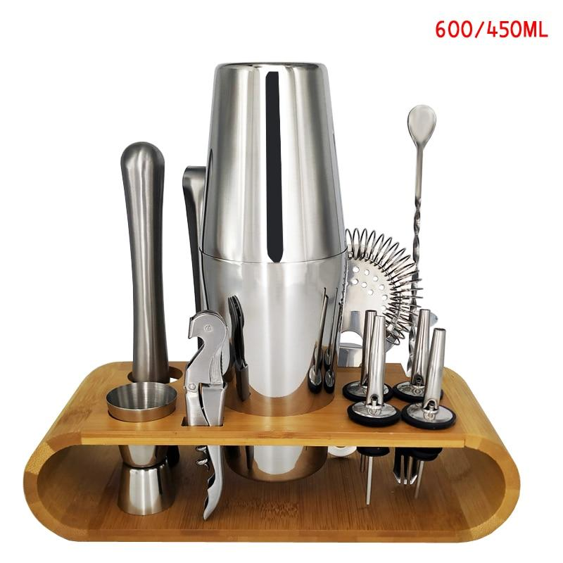 Kit cocktail <br> 13 Pièces <br> (600/450ml) - Inox Ecologie