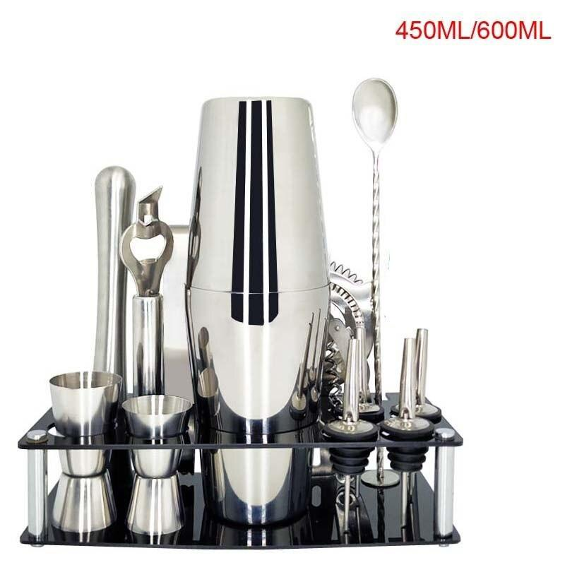 Kit cocktail <br> 13 pièces <br> (450ml) - Inox Ecologie