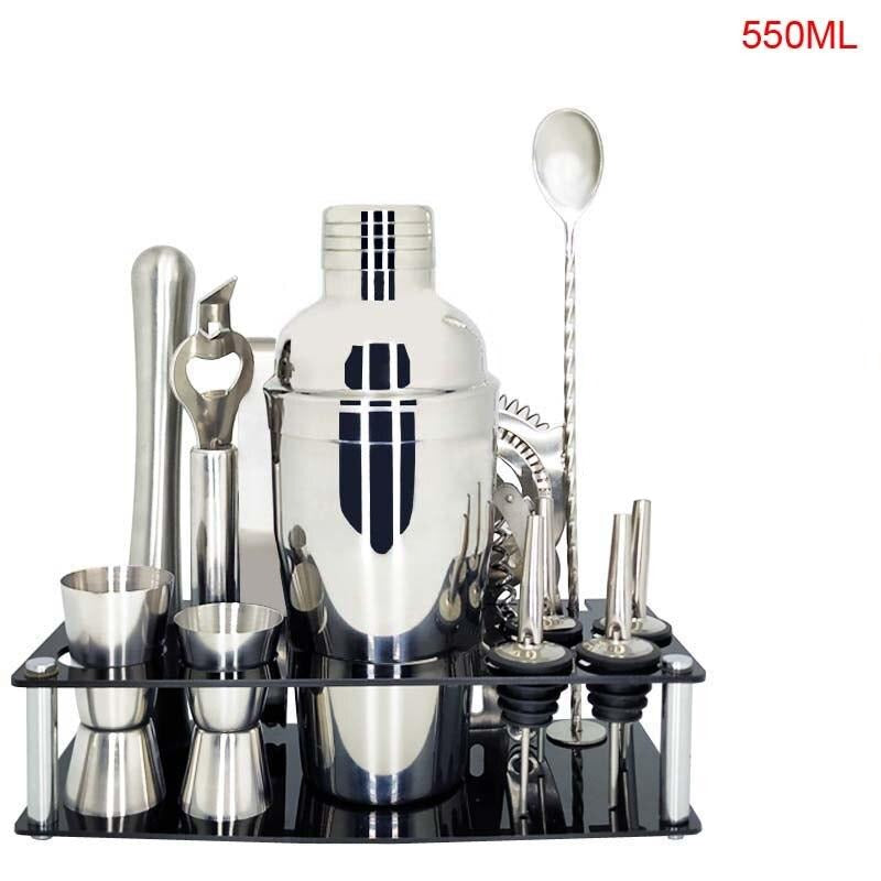 Kit cocktail <br> 13 pièces <br> (550 ml) - Inox Ecologie
