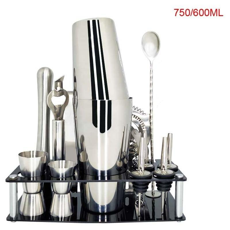 Kit cocktail <br> 13 pièces <br> (750ml/600ml) - Inox Ecologie