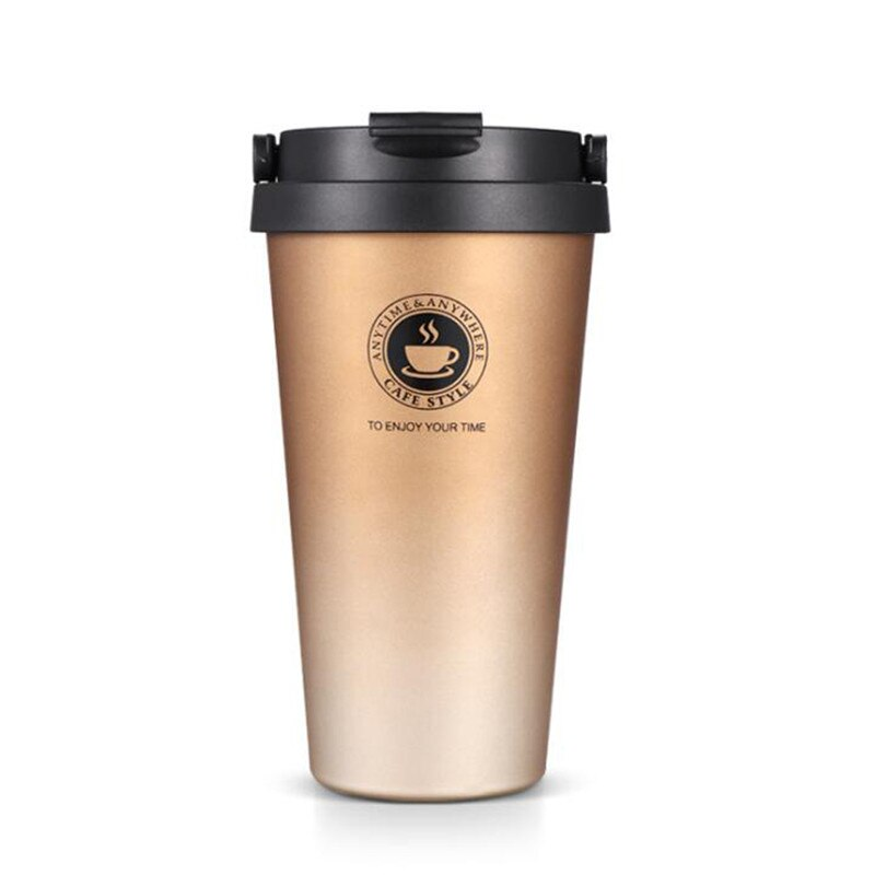 Travel mug inox rose gold 500 ml - Inox Ecologie