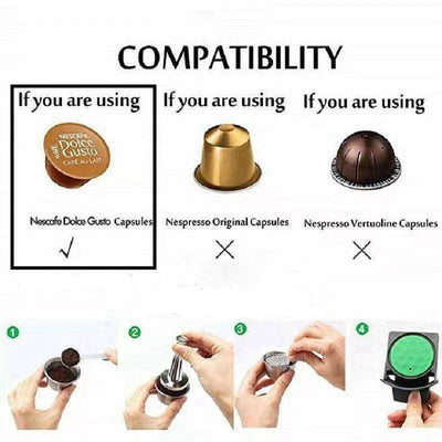 Capsule nespresso réutilisable <br> Dolce gusto - Inox Ecologie
