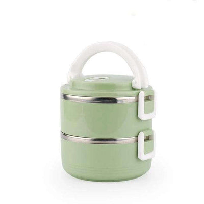 Lunch box isotherme <br> 2 Box - Inox Ecologie