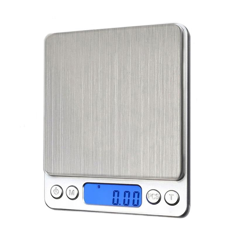 NEW 500/0.01g 3000g/0.1g LCD Portable Mini Electronic Digital Scales Pocket Case Postal Kitchen Jewelry Weight Balance Scale - Inox Ecologie