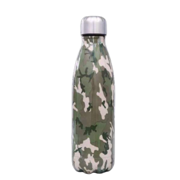 Bouteille inox <br> camouflage armée | Inox Ecologie