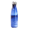 Bouteille inox personnalisable galaxie bleu